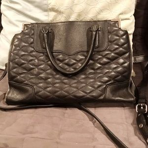 Authentic Rebecca Minkoff Quilted Amorous Satchel